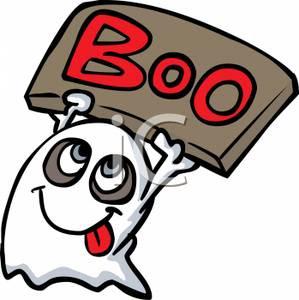 mmg seram sgt   Cartoon Halloween Ghosts