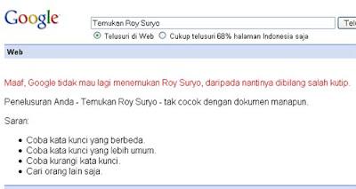Temukan Roy Suryo