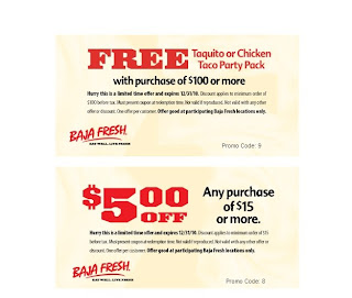 Baja coupons