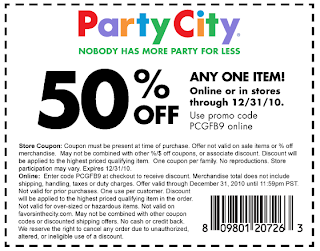Party city coupons 2018 40 off