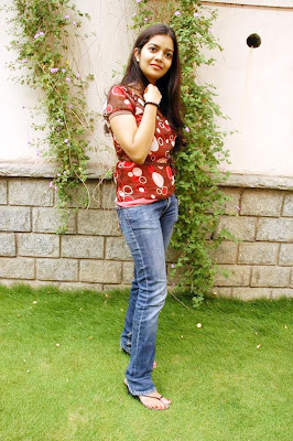 Swathi Latest Cute Looking Photos In Jeans