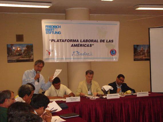 EVENTO PLATAFORMA LABORAL DE LAS AMÉRICAS