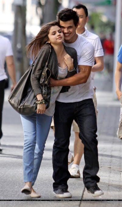 Selena Gomez Taylor Lautner Hugging. See him hugging his ex-Selena