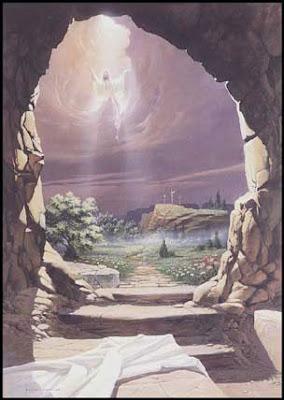 The Tomb is empty.