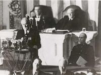 FDR delivers 'Date of Infamy' speech