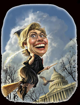 The Hillary Witch!