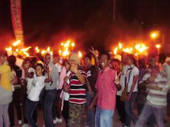 Pawai Obor Paskah 2010