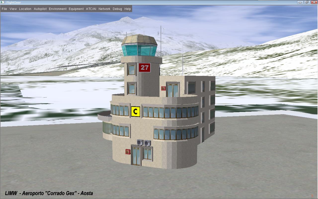 Aeroporto Aosta : Flightgear forum view topic limw aeroporto quot corrado