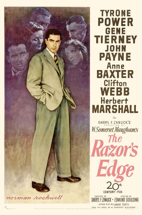 ... Century Fox had ever produced: W. Somerset Maugham's THE RAZOR'S EDGE, ...