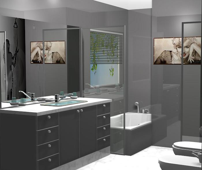 Mi asignatura pendiente, cuartos de baño