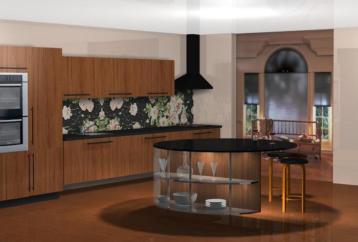 Diseño de cocina (Azulejos Victorio & Lucchino)