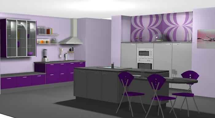 Diseño de cocina inspirado en LUBE