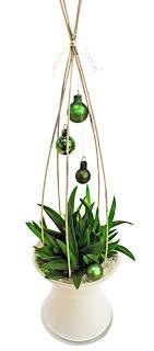 grön julgrupp