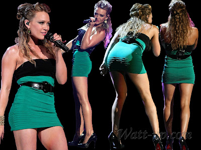 Hilary Duff Thong http://watt-up.blogspot.com/2008/12/hilary-duff-hot-leggy.html