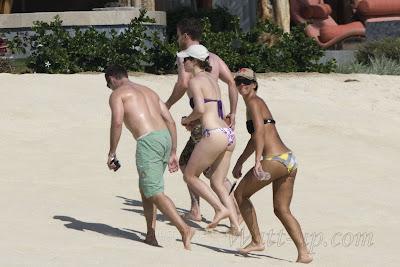 Jessica Biel PowderBlue 3 First Jessica Biel bikini