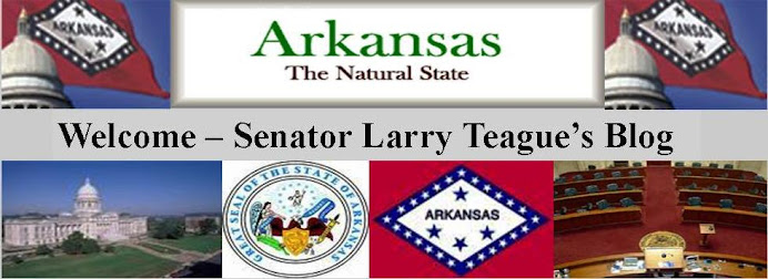 Welcome - Senator Larry Teague's Blog