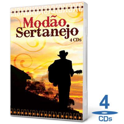 Coletânea Modão Sertanejo   4 CDs