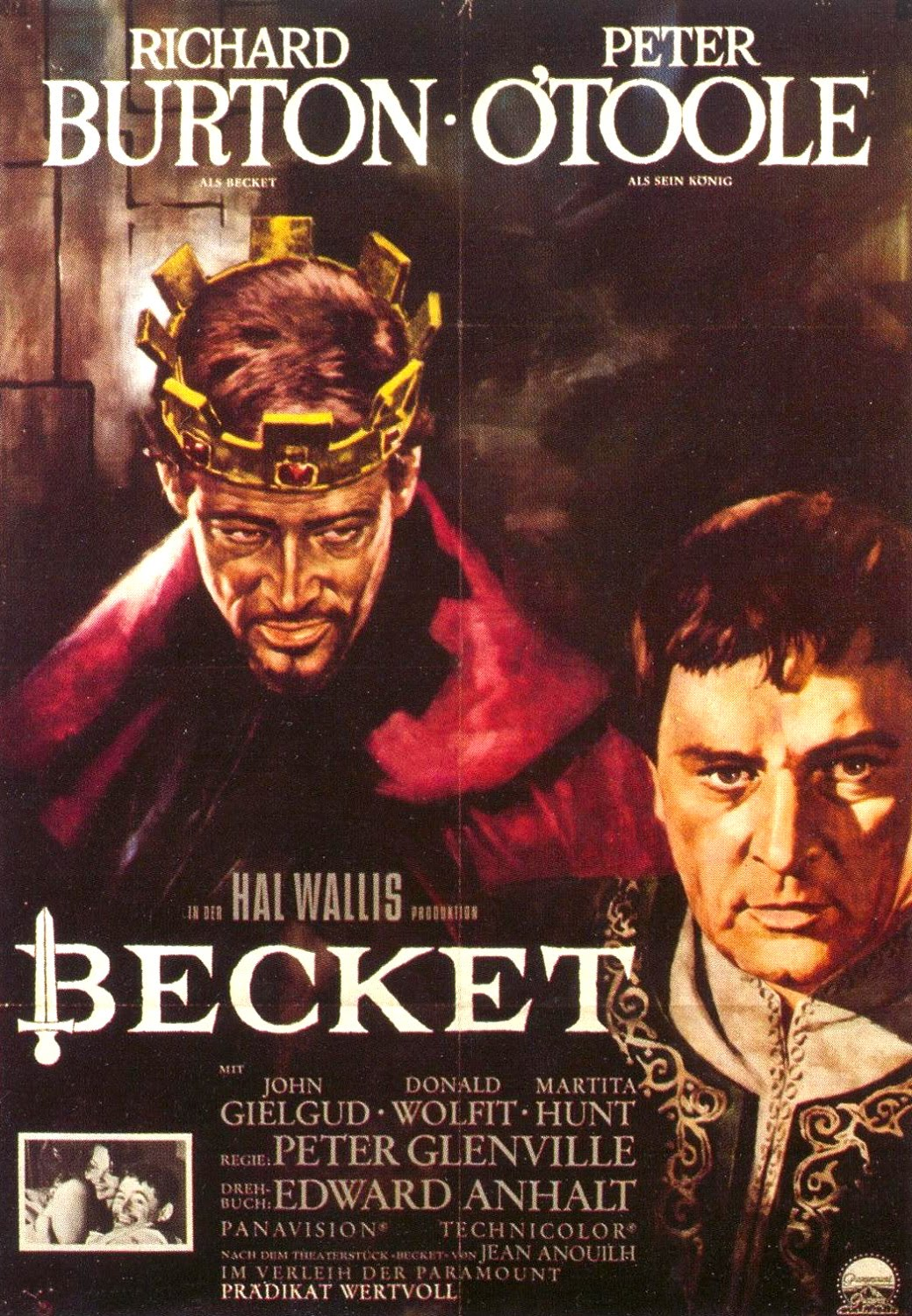 Movie Posters Becket 1964