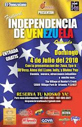 Eventos: Festival Independencia de Venezuela