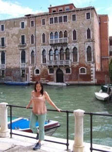 En Venecia.