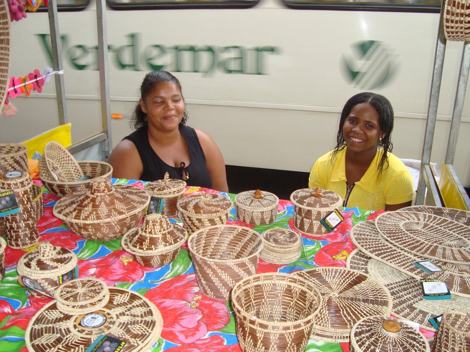 Artesanato Da Região Sul Rendas ~ Conheça a arte da piaçava A palha que vira artesanato na Bahia Arteblog