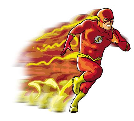 A troca de bike mais rápida do oeste O+The+Flash