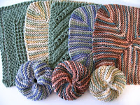 Cotton dishcloths and scrubbies