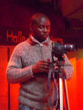 Frank Mukasa, le vidéaste qui a suivi la résidence de Liesel et Elodie...