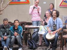 Le 19 juin encore, Saïd Bahij aux percussions...