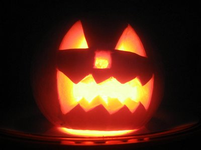 C mo hacer una calabaza de halloween manualidades - Como hacer calabazas de halloween ...