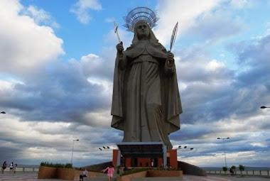 Maior imagem católica do mundo - 56 metros de altura
