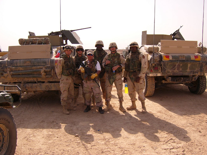 Just outside of Tikrit, Iraq, 2004