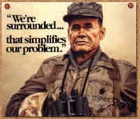 US Marine Chesty Puller on the Art of Being Surrounded