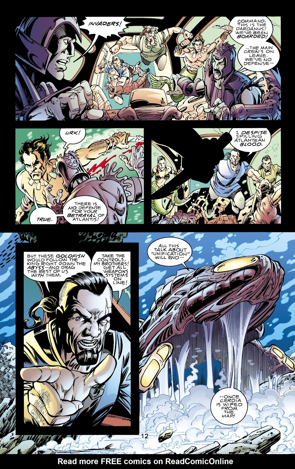 Aquaman (1994) Issue #70 #76 - English 12