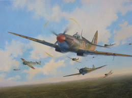 Alan Peart DFC in action!