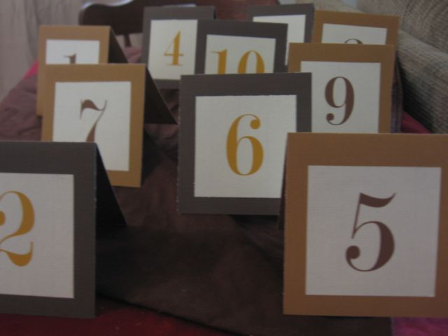 2000 Dollar Budget Wedding Guest Post How To Diy Wedding Table Numbers