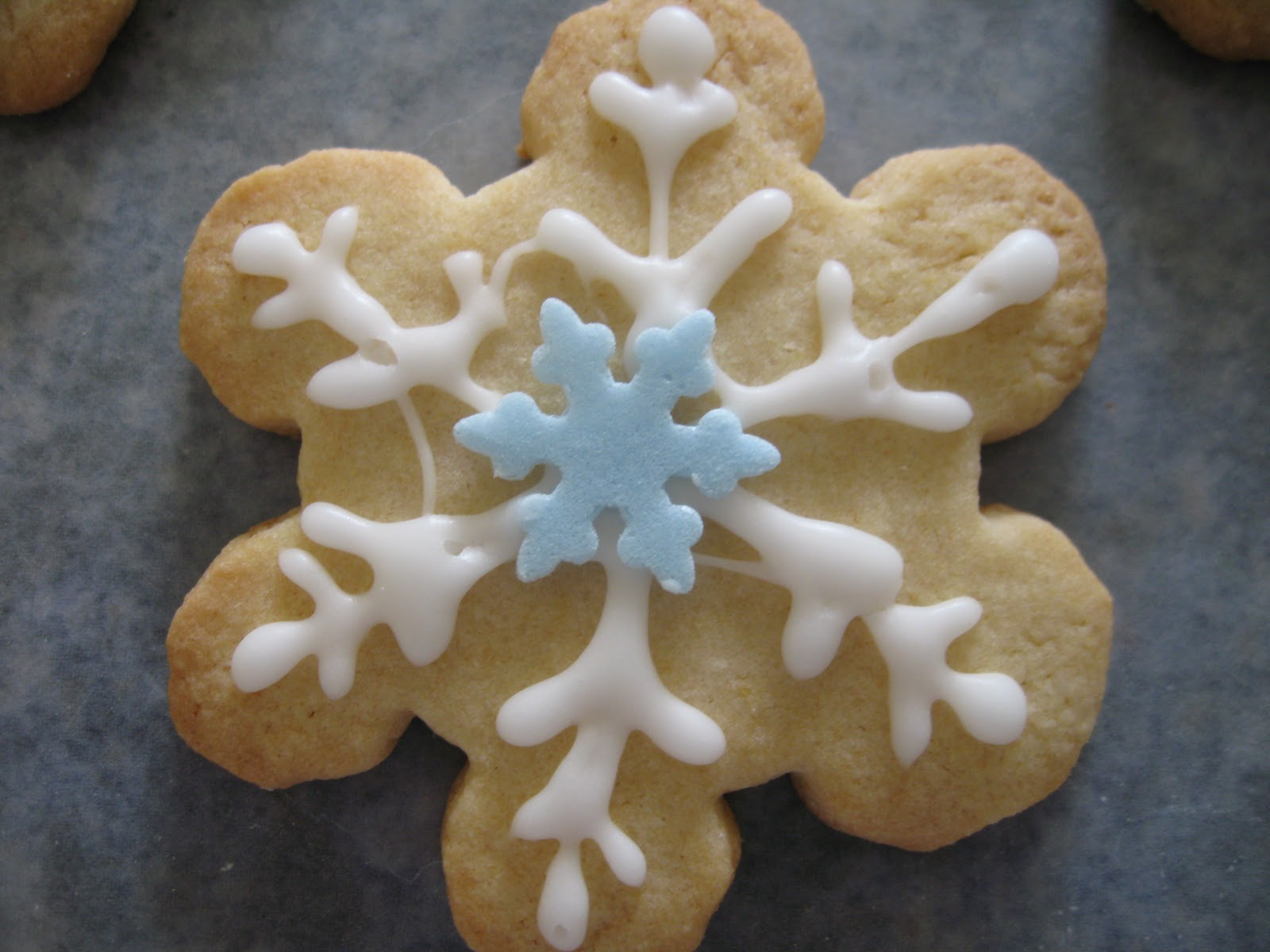 Easy Sugar Cookie Icing~
