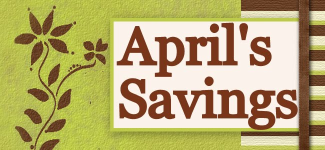 April's Savings