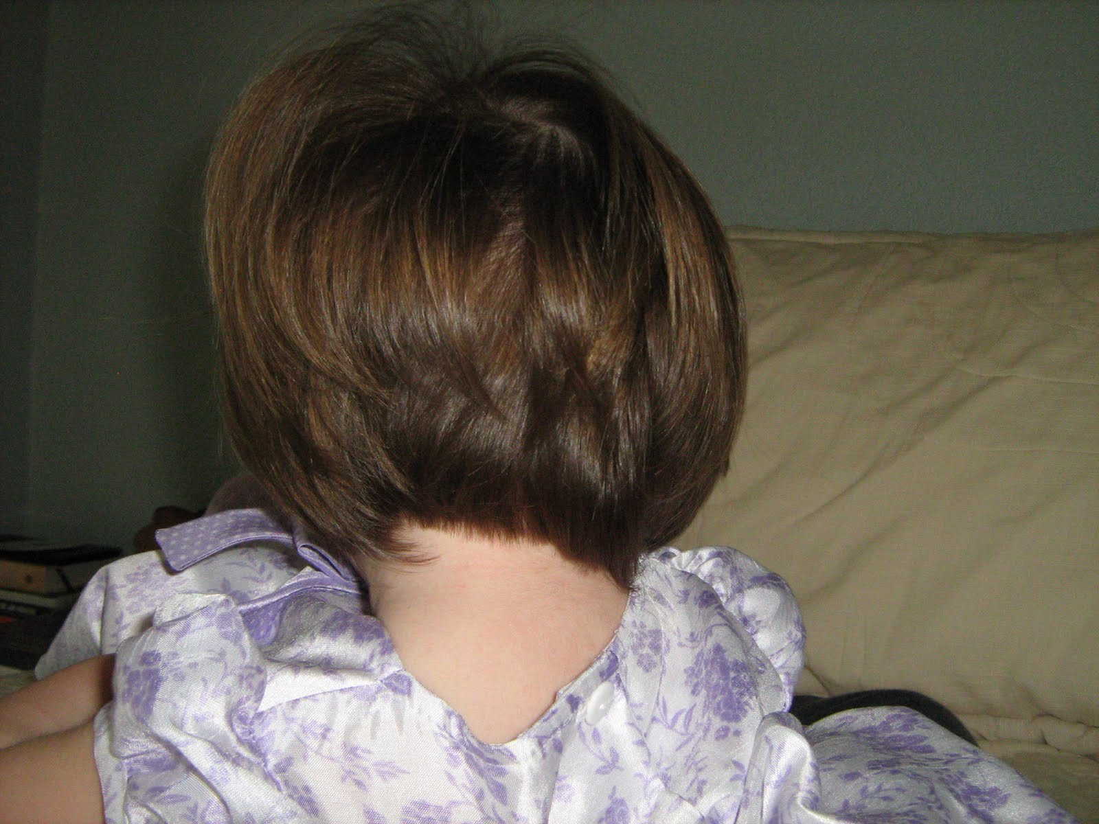 Back view of stacked bob haircut - Short Stacked Bob Haircut Back View