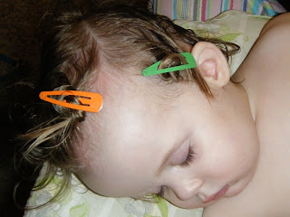 Toddler Lice Treatment - Day 1