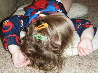 Toddler Lice Treatment - Day 3