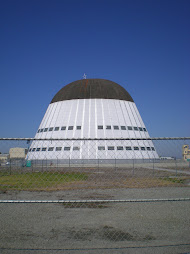 """Hangar One--"" giant dirigible hangar"
