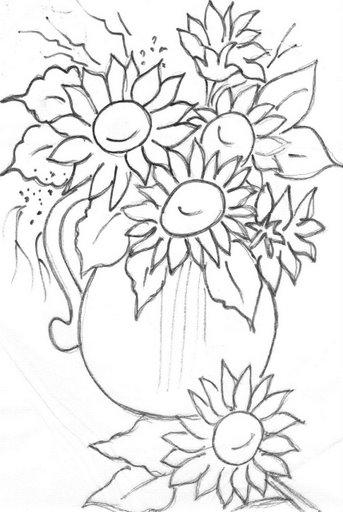 Desenhos Muito Lindos De Frutas E Flores Para Colorir