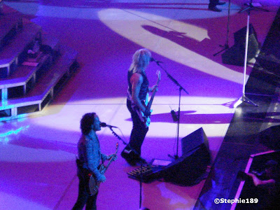 Def Leppard, 2007 -- Vivian Campbell and Rick SAV Savage