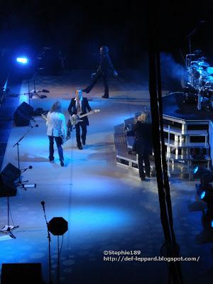 Joe, Sav, Phil, & Viv - Def Leppard - 2008