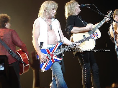 Vivian Campbell, Rick Savage, Joe Elliott, & Phil Collen - Def Leppard - 2008