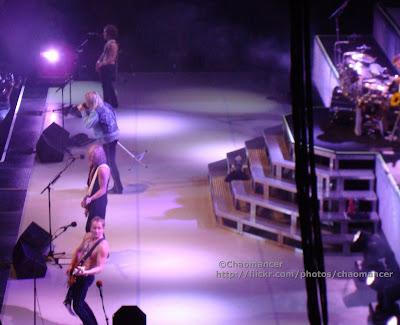 Phil Collen, Rick Savage, Joe Elliott, & Vivian Campbell (& Rick Allen) - Def Leppard - 2008