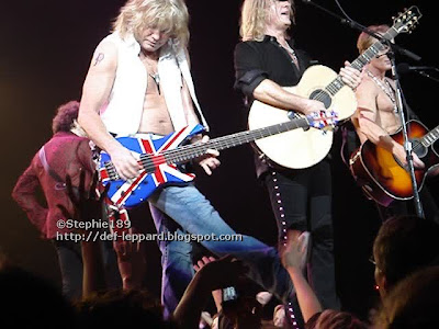 Viv, Sav, Joe, and Phil - Def Leppard - 2008