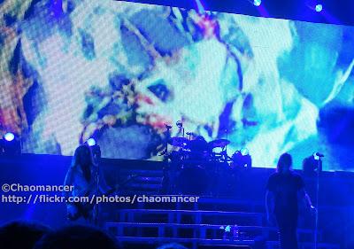 Rick Savage, Rick Allen, and Joe Elliott - Def Leppard - 2008