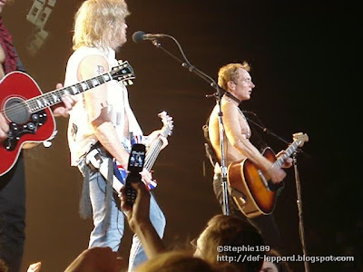(Vivian) Sav and Phil - 2008 - Def Leppard
